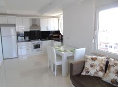 1+1 apartment with sea view 150m from the beach in Alanya