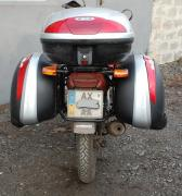 Багажные системы, боковые рамки, защитные дуги на мотоцикл
