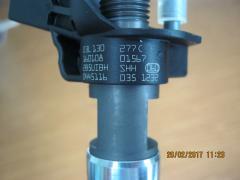 BOSCH 0445116035,VAG 03L130277C форсунка топливная пьезо VW Amarok