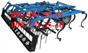 Continuous cultivator KPPO-4 / KNPO-4 with roller or tooth-spring