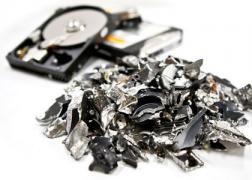 Destroying hard drives