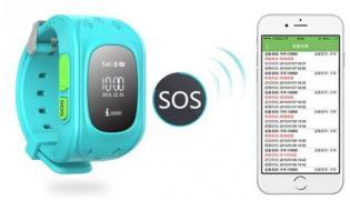 Детские умные часы-телефон Q50 c GPS Baby Smart Watch