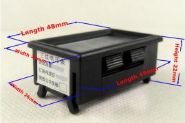 Digital ammeter DC 0-10A (built-in shunt)