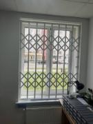 Грати розсувні металеві на вікна, двері, вітрини. Дніпро