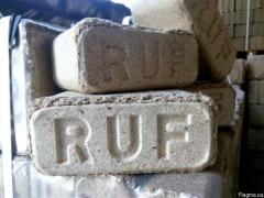 I will buy RUF briquettes and A1 pellets in bags or big bags. Poland