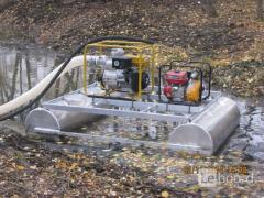 Mini dredges for cleaning, deepening, reclamation,mining