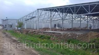 Монтаж металлоконструкций, быстровозводимые сооружения