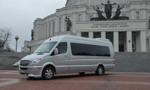 Пассажирские перевозки в Минске. Аренда авто в Беларуси