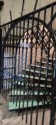 Rose metal grilles for windows, doors, windows