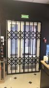 Розсувні решітки металеві на двері, вікна, вітрини Черкаси