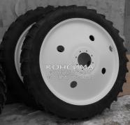 Сельскохозяйственные колесные диски и шины