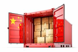 Services for the delivery of any cargo from China