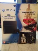 Sony PlayStation 4 (PS4) with free Games Bundle