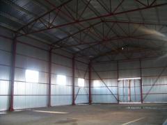 Строительство быстровозводимых сооружений. Монтаж металлоконструкций