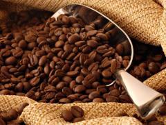 Свежеобжаренный зерновой кофе, арабика, робуста средней обжарки