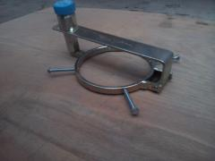 The lock on the tank of a truck MAN, DAF, Scania etc