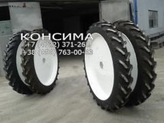Узкие колесные диски для междурядий
